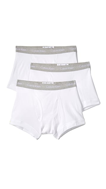 Calvin Klein Underwear 3 Pack Cotton Classic Trunks