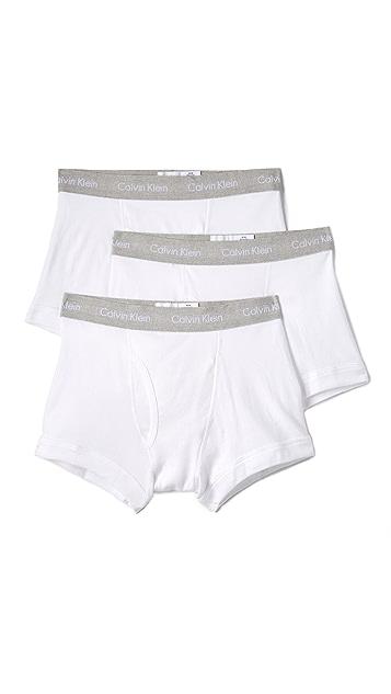 Calvin Klein Underwear 3 Pack Cotton Classic Trunks