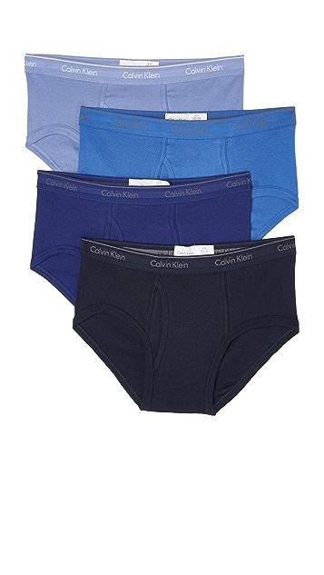 Calvin Klein Underwear 4 Pack Cotton Classic Briefs