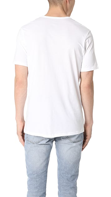 Calvin Klein Underwear 3 Pack Slim Fit Classic V-Neck Tee