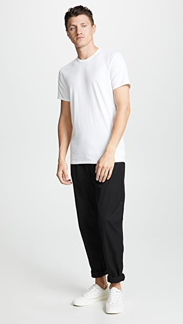 Calvin Klein Underwear 2 Pack Cotton Stretch Crew Neck Tee