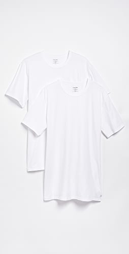 Calvin Klein Underwear - 2 Pack Cotton Stretch Crew Neck Tee