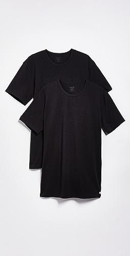 Calvin Klein Underwear - 2 Pack Cotton Stretch Crew Neck Tee