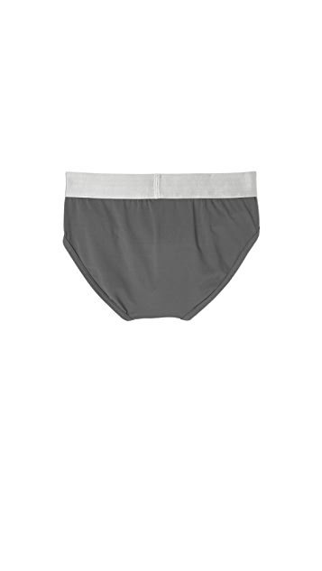Calvin Klein Underwear Steel Micro Hip Briefs