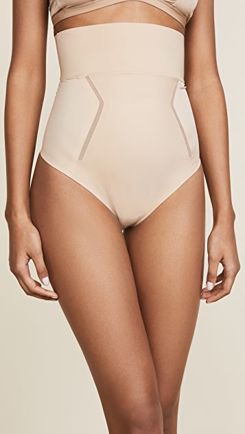 7b954fc3eca76 Calvin Klein Underwear Sculpted Shapewear High Waist Thong