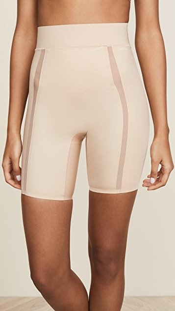 324d6e8251 Calvin Klein Underwear Sculpted Thigh Shaper Shorts