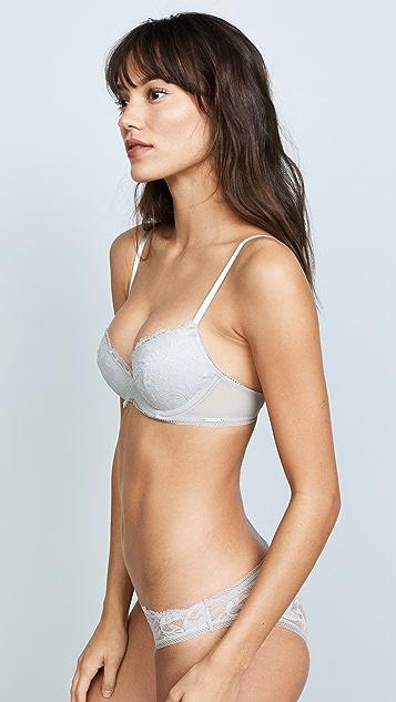 998aac9d75bf2 ... Calvin Klein Underwear Bird Lace Demi Lift Bra ...