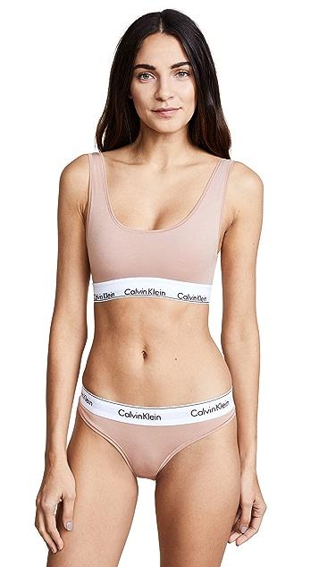 Calvin Klein Underwear Modern Cotton U Back Bra