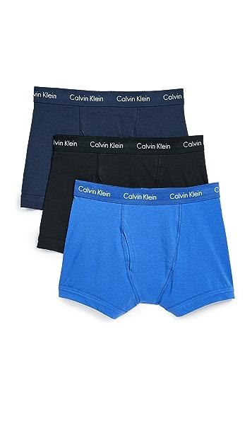 Calvin Klein Underwear Cotton Stretch Trunks
