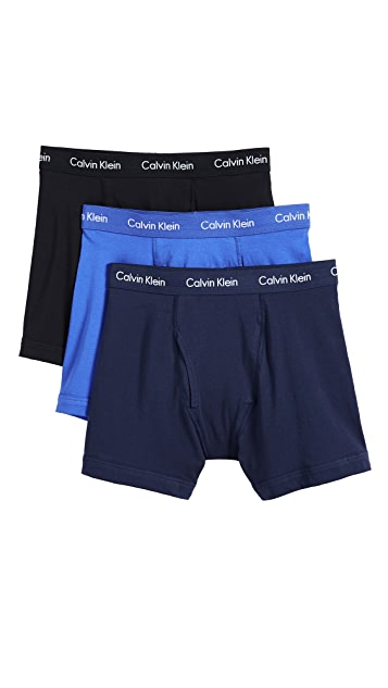 Calvin Klein Underwear Cotton Stretch Boxer Briefs