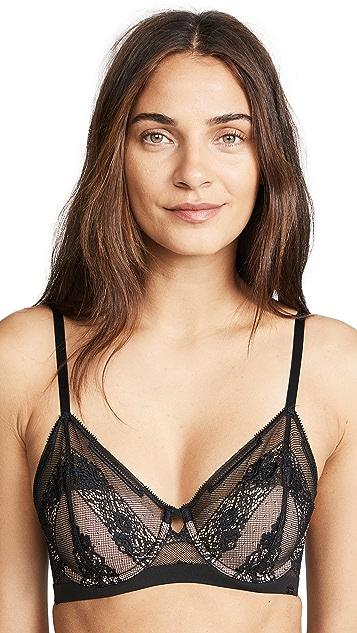 Calvin Klein Underwear Garden Stripe Triangle Bra