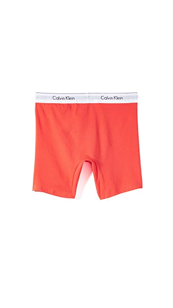 Calvin Klein Underwear 2 Pack of Modern Cotton Stretch Boxer Briefs