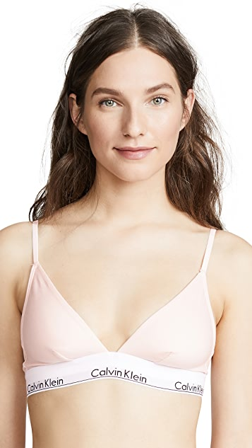 Calvin Klein Underwear Modern Cotton Triangle Unlined Bra