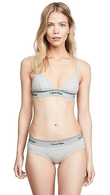 Calvin Klein Underwear Heritage Athletic Unlined Triangle Bra