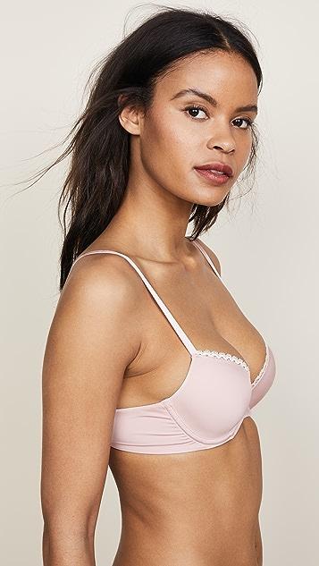 fbe9bd11519a8 ... Calvin Klein Underwear Seductive Comfort Tailored Demi Lift Bra ...