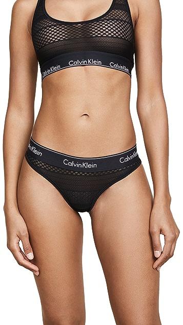 Calvin Klein Underwear Lace Thong