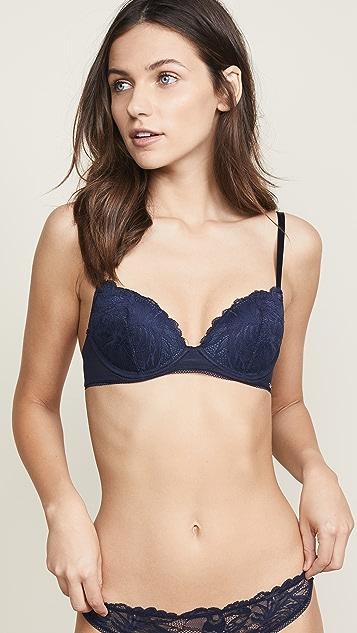 d59c452cf3952 Calvin Klein Underwear Bird Lace Demi Lift Bra