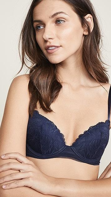 Calvin Klein Underwear Bird Lace Demi Lift Bra
