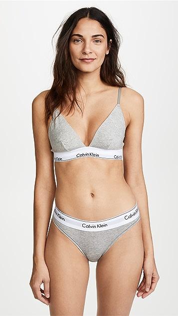 669d44e55a Calvin Klein Underwear Modern Cotton Triangle Bra