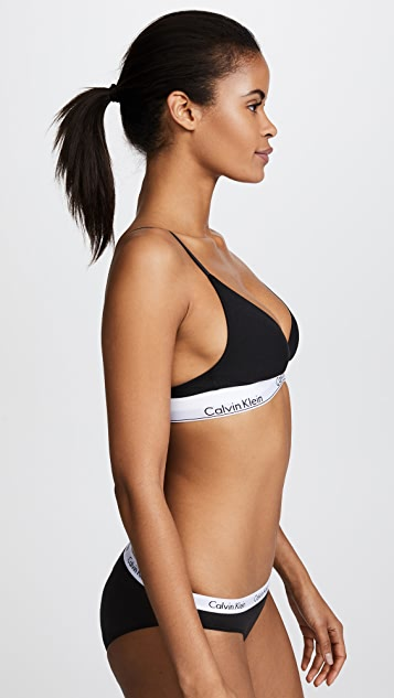 59533865997c6 ... Calvin Klein Underwear Modern Cotton Triangle Bra ...