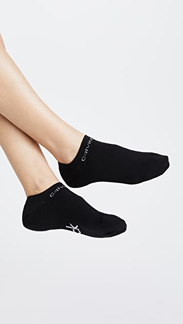 Calvin Klein Underwear Two Pack Ankle Socks