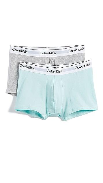 Calvin Klein Underwear Modern Cotton Stretch 2 Pack Trunks