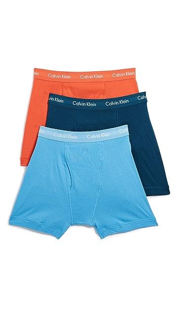 50a347b8047f Calvin Klein Underwear 3 Pack Cotton Classic Boxer Briefs   EAST DANE