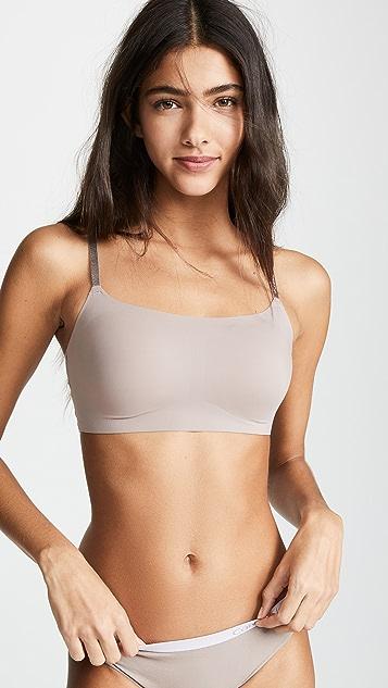 Calvin Klein Underwear Invisibles Adjustable Strap Bralette
