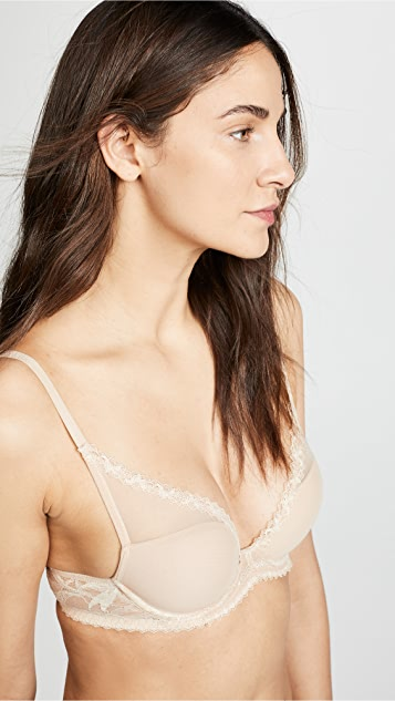 Calvin Klein Underwear Perfectly Fit Perennial Lightly Lined Plunge Bra