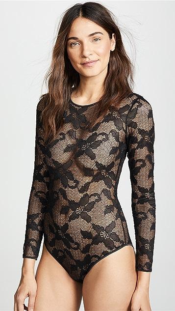 Calvin Klein Underwear CK Black Lily Lace Bodysuit