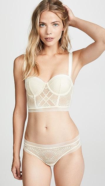 Calvin Klein Underwear Endless Strapless Lift Longline Bra
