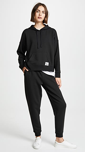 Calvin Klein Underwear Monogram Lounge Hoodie