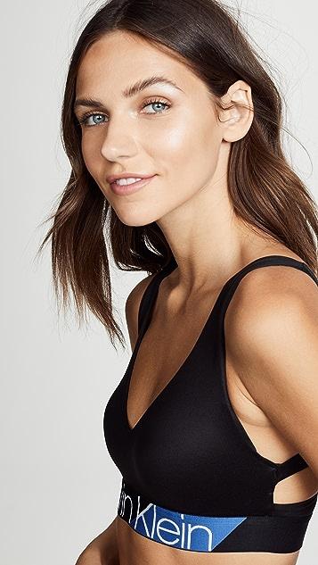 Calvin Klein Underwear Chevron Lightly Lined Bralette