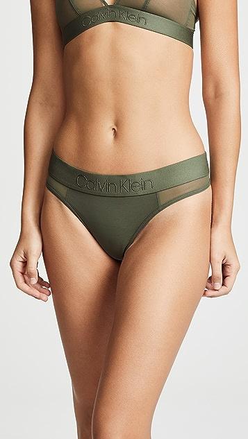 Calvin Klein Underwear Tonal Logo Thong
