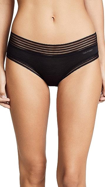 Calvin Klein Underwear Трусики-шорты с низкой талией из модала