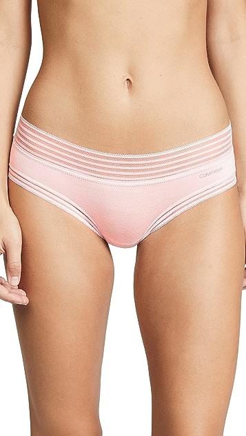 Calvin Klein Underwear 莫代尔纤维低腰短内裤