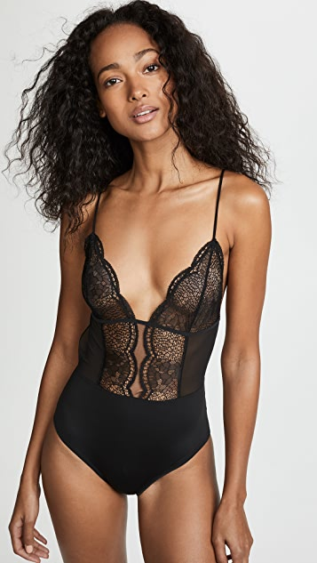 Calvin Klein Underwear Crackled Bodysuit