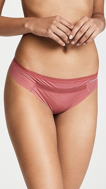 Calvin Klein Underwear Invisibles Mesh Thong