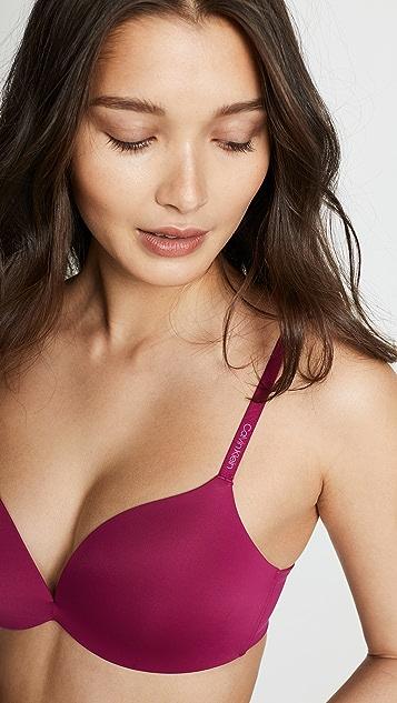 ad01036f62fbb6 ... Calvin Klein Underwear Form Push Up Plunge Bra ...