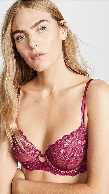 Calvin Klein Underwear Seductive Comfort Lace Unlined Bra