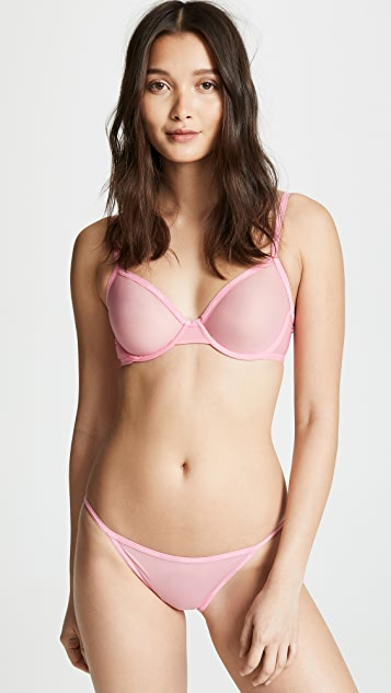 ff63b19c8594 Calvin Klein Underwear Sheer Marquisette Unlined Demi Bra | SHOPBOP