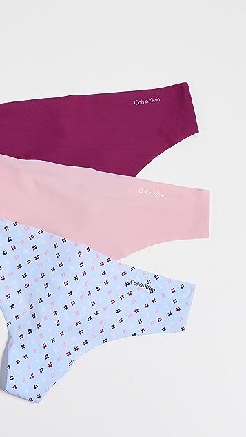 fb3d8cae0b93ed Calvin Klein Underwear Invisible Thong 3 Pack | SHOPBOP