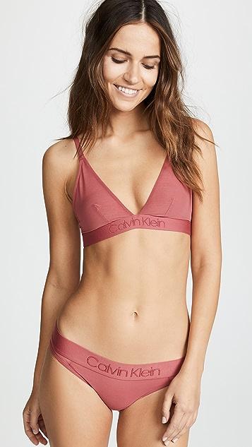 Calvin Klein Underwear Tonal Logo Mesh Bikini