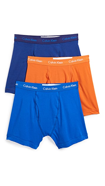 Calvin Klein Underwear 3 Pack Cotton Stretch Briefs
