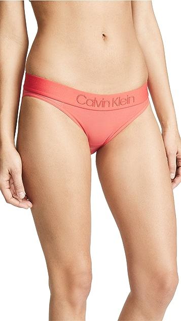 Calvin Klein Underwear Tonal Logo Unlined Bikini Panties
