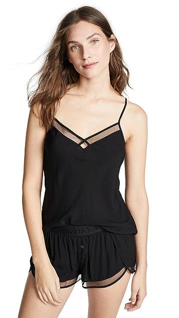 Calvin Klein Underwear Cami Short Sleep Set