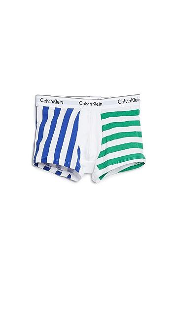 Calvin Klein Underwear Modern Cotton Stretch Trunks