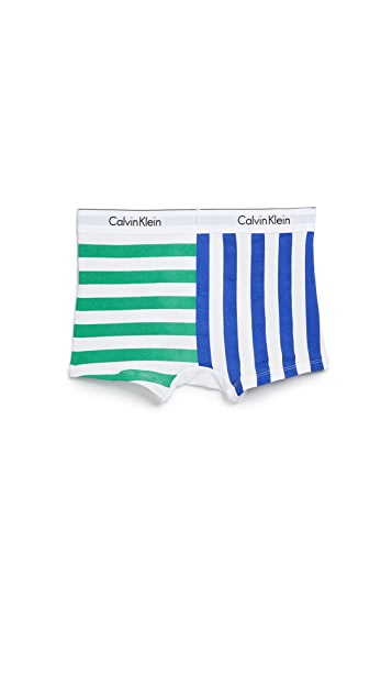 Calvin Klein Underwear Modern Cotton Stretch Trunks