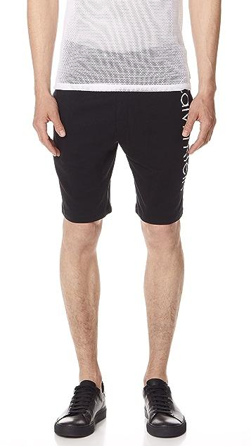 Calvin Klein Underwear Logo Lounge Shorts