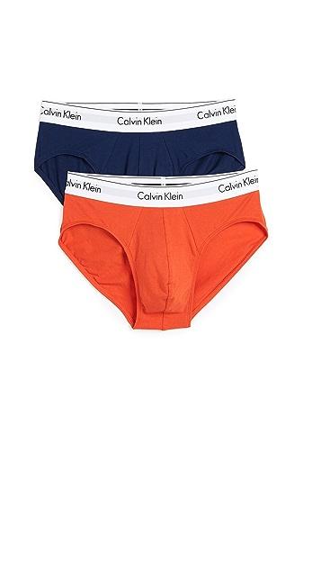 Calvin Klein Underwear Modern Cotton Stretch 2 Pack Briefs